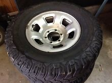 Nissan Patrol wheel and tyre Howrah Clarence Area Preview