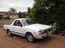 1990 Subaru Brumby Rutherford Maitland Area Preview
