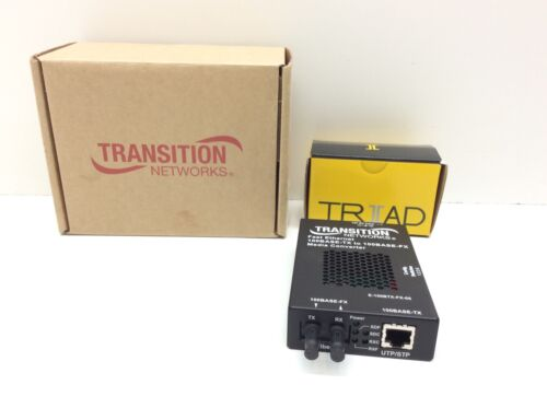 Transition Networks 100btx to 100bfx Standalone St 1300nm 2km E-100BTX-FX-05