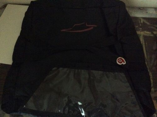 Pizza Hut Black Insulated Delivery Bag - Holds 3-4 Pizzas - Sweet - #9