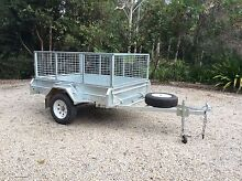 Galvanised trailer 5x7 as new used twice Valla Nambucca Area Preview