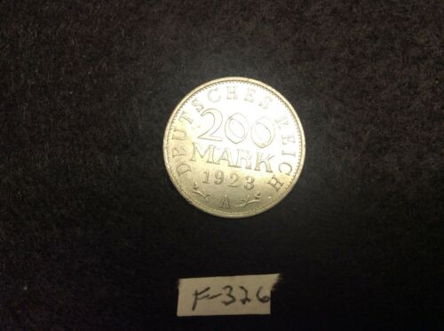 (F-326) Germany 200 Marks 1923A