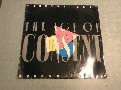Disque vinyle 33 tours (b) bronski beat, the age of consent
