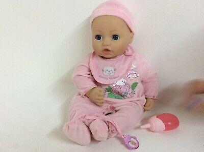 Zapf Creation Baby Annabell Doll - She babbles, giggles, sleeps, {769{ b17