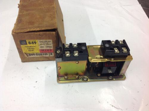 Allen Bradley 849-Z0D321 Ser. B Pneumatic Time Relay 110/120v NEW SURPLUS IN BOX