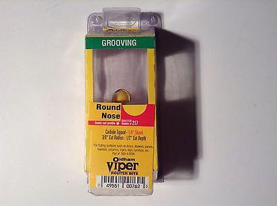 Oldham Viper 380-4-ron 38 Cut Radius Grooving Round Nose Router Bit