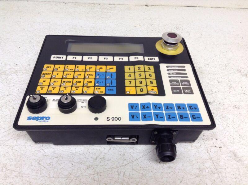 Sepro Robotique S900 Teach Pendant Controller S-900