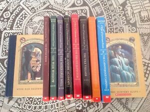 A Series of Unfortunate Events book 1-10 by Lemony Snicket