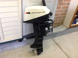6HP Johnson outboard motor | Boat Accessories & Parts | Gumtree