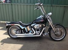 HARLEY DAVIDSON SOFTAIL SPRINGER GENUINE 210rear Wetherill Park Fairfield Area Preview