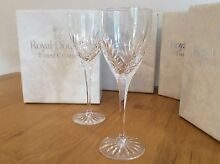 Royal Doulton Fine Crystal Glassware Crafers Adelaide Hills Preview