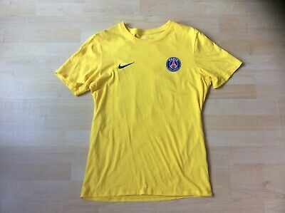 0693b7b0 NIKE Neymar Jr Paris Saint Germain Yellow Away T-Shirt, Size: M