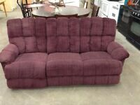 Recliner Couch at Waterloo ReStore