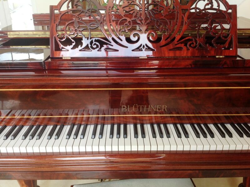 Magnificent Very Rare Bluthner Grand Piano