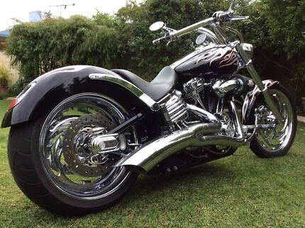 Custom 2009 Harley Davidson Rocker C Morley Bayswater Area Preview