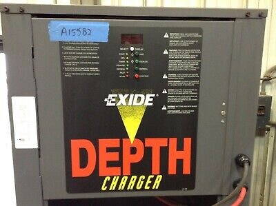 Used 24 Volt - Enersys Depth Charger - 400 To 750 Ah Battery