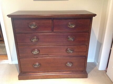 Timber drawer chest Ringwood East Maroondah Area Preview