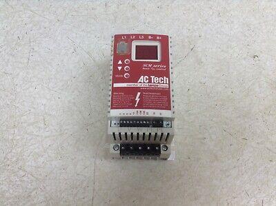 Lenze Ac Tech Sm405 Variable Speed Ac Motor Drive 0.50 Hp 400460 Vac Tsc