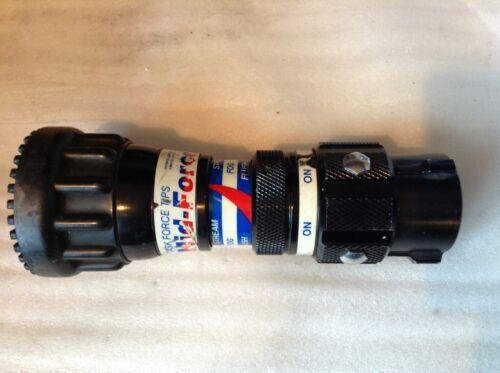Task Force Tips Dual Force Nozzle - Dual Pressure Fire Hose Nozzle