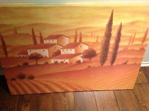 2 Large canvas pictures