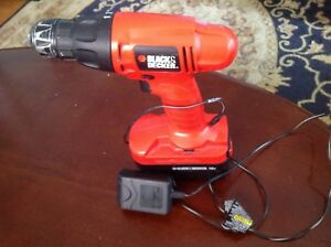 Black&Decker cordless Drill with Charger $20