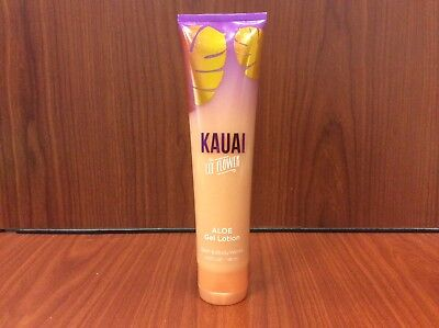 (BATH & BODY WORKS KAUAI  LEI FLOWER ALOE COOL GEL LOTION 5.6 Oz.)