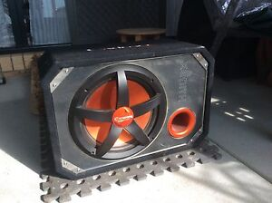 """12"""" cadence subwoofer & amp Avoca Pyrenees Area Preview"""