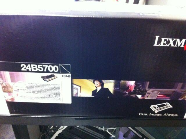 original Lexmark Toner 24B5700 black  für Lexmark XS748 DE  A-Ware
