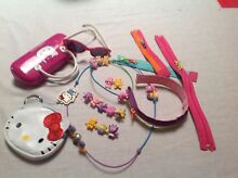 Hello Kitty purse sunglasses & case, craft zip headband Safety Bay Rockingham Area Preview