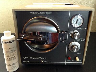 Autoclave Sterilizer Sybron M7 120v Speedclave Tattoo Dental Veterinary Salon