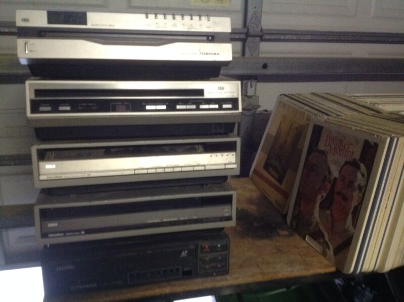 Vintage CED Video ..... 146 Capacitance Electronic Discs & 4 Players