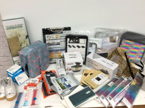 Wholesale mixed Lot 45 items General Merchandise Bulk home cell craft NEW