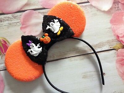 Halloween Party  Minnie Mouse Ears headband- Disney World- Disneyland-costume](Disneyland Halloween Party Costumes)
