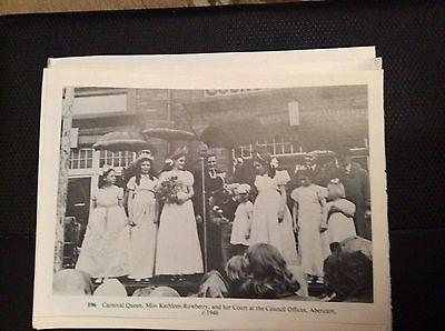 74-9 ephemera reprint picture crumlin kathleen rowberry abercarn queen 1946