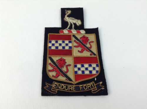 PATCH Endure Fort Scottish Clan Crest