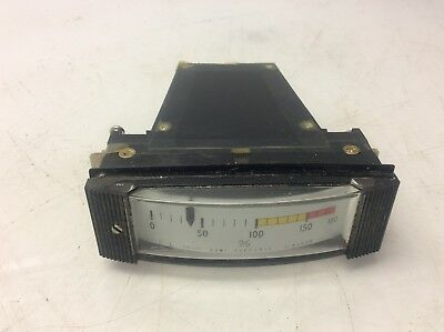 Gomi Electric Panel Mount Meter, HM-100, 0-180 % Meter, No E1325, Used, WARRANTY