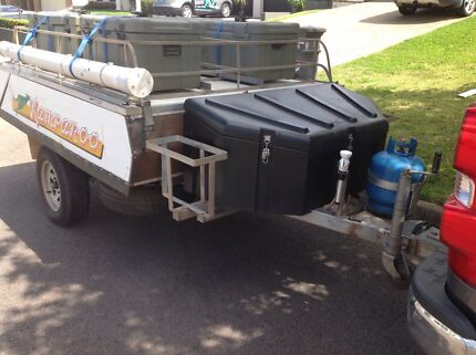 Modified Cub Kamparoo rear fold hard floor Camper Trailer with extras Ashtonfield Maitland Area Preview