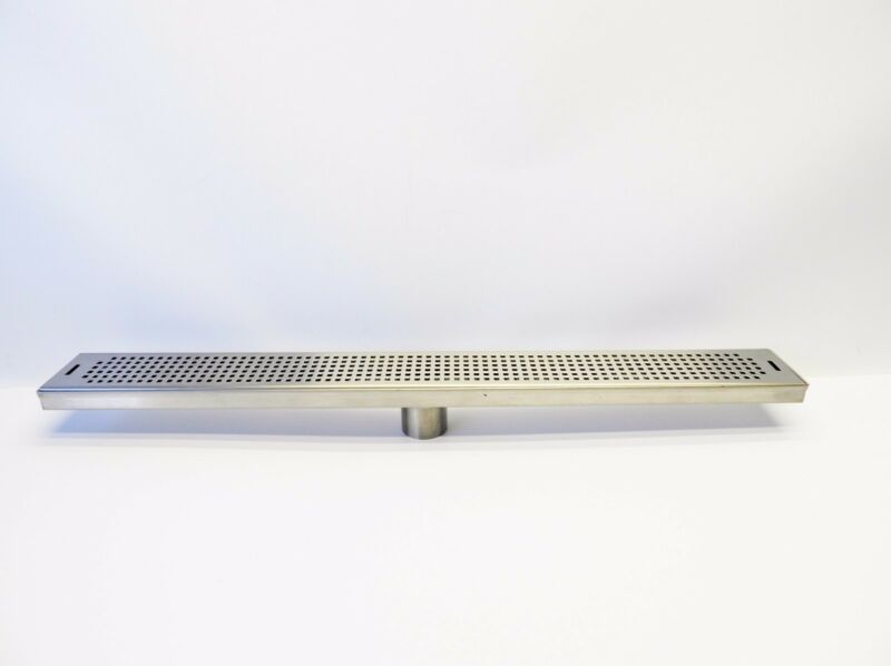 """30"""" Stainless Steel Surface Mount Tap Drain Tray 30"""" L x 3- 3/8"""" W"""