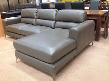 Iluka full leather chaise lounge (2.8M) Joondalup Joondalup Area Preview