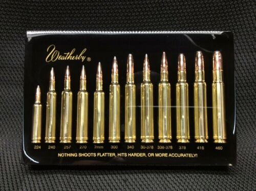 Weatherby Rare Vintage - Ammo Display 12 Cartridge BLACK - FREE SHIPPING!!!