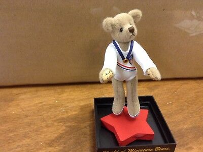 Mary Lou miniature bear by artist Marie Fuentes VERY RARE