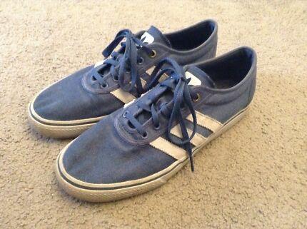 Blue adi ease sneakers