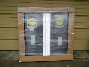 Brand new pella white vinyl double casement home window 53 for House window brands