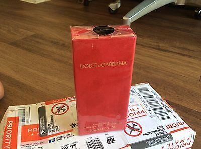 Femme 1.6oz Dolce & Gabbana Perfume Old Formulla FOR WOMEN Red Velvet 50ml 1.7oz