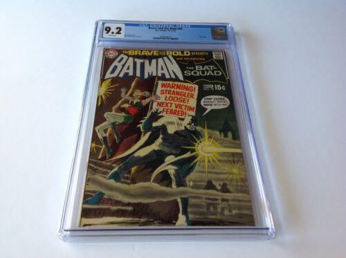 BRAVE AND THE BOLD 92 CGC 9.2 WHITE PAGES BATMAN BAT SQUAD DC COMICS