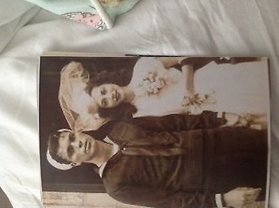 M17b8 6x4 Inches reprint Photograph ww2 Wedding Couple Bride 040 sailor man