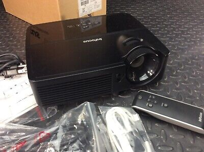InFocus DLP Projector Model IN2126 with Remote Only 257 Lamp Hours