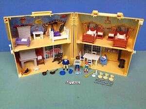 M146 Playmobil Maison Transportable Ref 4145 Ebay
