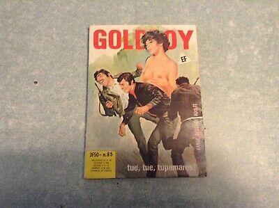 Bd érotique format de poche/ goldboy, tue tue tupamaros!