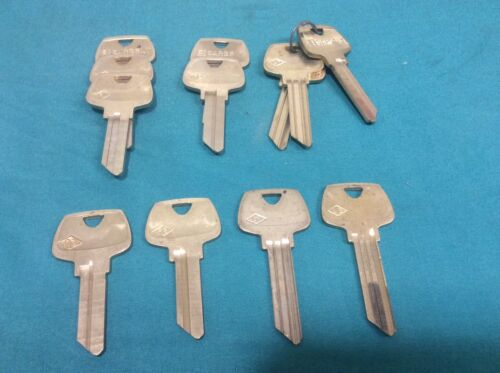 Sargent Origonal Key blanks, set of 9, locksmith